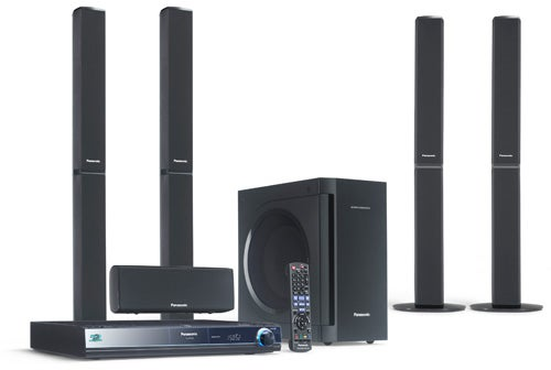 Which Features Bookshelf Style Speakers And The Sc Btx70 A Led 2 1 Channel System With New Vertical Standing Main Unit