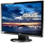 "VW246H 61 cm 24"" LCD Monitor 1920 x 1080 @ 75 Hz - 2 ms - 0.270 mm - 20000:1 - Black"