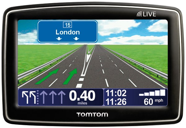 tomtom xl live iq routes edition sat nav review trusted reviews. Black Bedroom Furniture Sets. Home Design Ideas