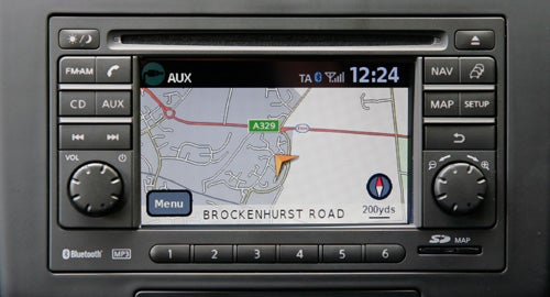 nissan qashqai 2 n tec 1 5dci navigation review trusted reviews rh trustedreviews com 2002 Nissan Maxima Navigation System 2002 Nissan Maxima Navigation System