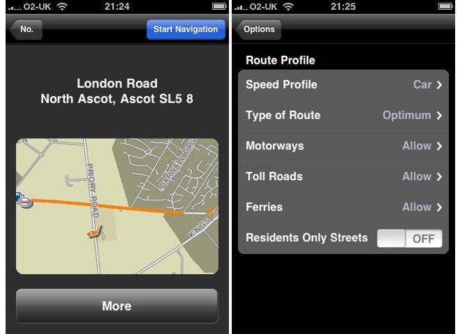 Navigon MobileNavigator For IPhone Review