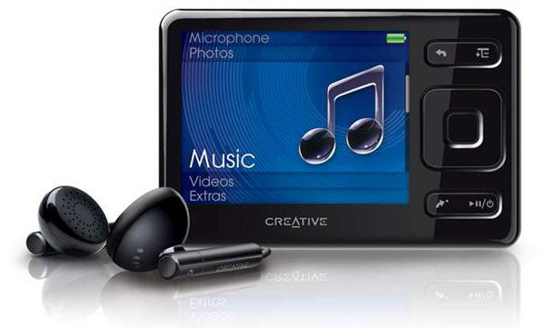creative zen mx 8gb review trusted reviews rh trustedreviews com Creative Zen Stone Plus Manual Creative Zen Media Player