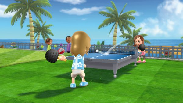 Wii sports resort review trusted reviews - Wii sports resort table tennis cheats ...