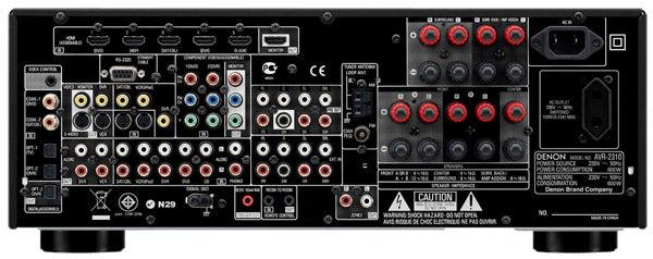 Denon AVR-2310 AV Receiver – Denon AVR-2310 Review ...