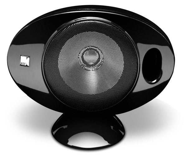 kef egg subwoofer. also pleasing is the multi-directional base that lets you tilt and turn each speaker to achieve most precise surround soundstage. kef egg subwoofer w
