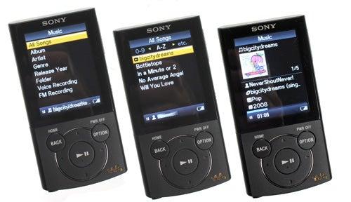 Sony walkman nwz e443 manualidades