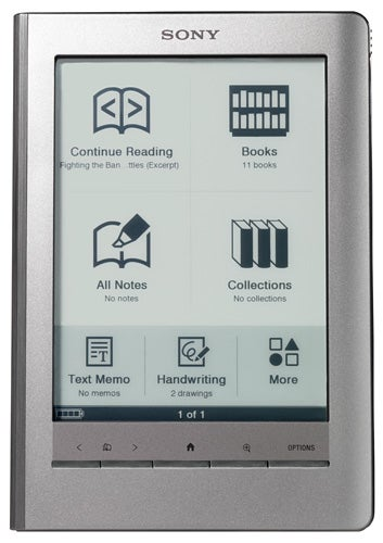 sony prs 600 reader touch edition review trusted reviews rh trustedreviews com sony digital book reader prs-600 manual Sony Reader PRS -300