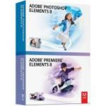 Photoshop Elements v.8.0 & Premiere Elements v.8.0 - Media Only (Graphics/Designing - Box Retail - PC - International English)