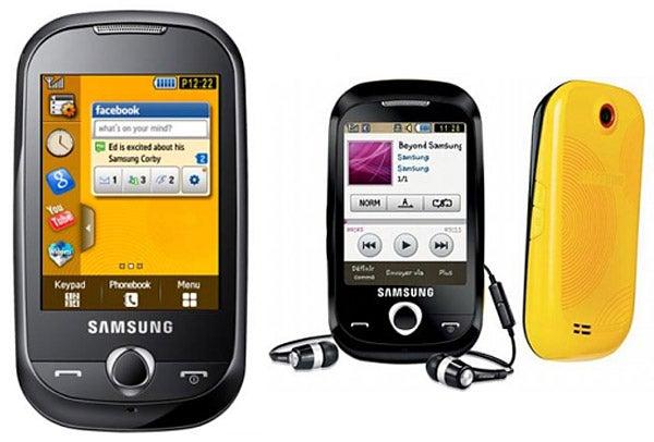 samsung genio touch samsung genio touch review trusted reviews rh trustedreviews com Samsung M340 Samsung M340