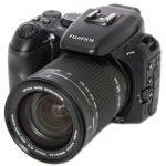 Fujifilm FinePix S200EXR front angle