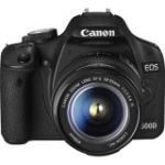 "EOS 500D 15.1 Megapixel Digital SLR Camera Body with Lens kit - 18 mm-55 mm (7.6 cm 3"" LCD - 3.1x Optical Zoom - 4272 x 2848 Image - 1920 x 1080 Video - HDMI - PictBridge)"