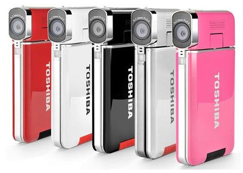 Toshiba Camileo S20 colours