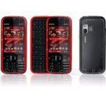 5730 Xpress Music Sim Free Mobile Phone - Red