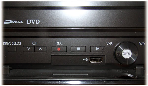 panasonic dmr ez49v dvd vhs recorder panasonic dmr ez49v review rh trustedreviews com Panasonic DMR- EZ48V Panasonic TV