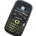 Samsung Genio Qwerty GT-B3210 front angle
