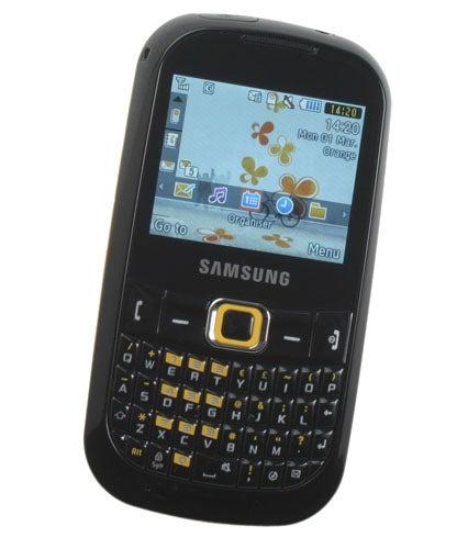 Samsung Genio Qwerty GT-B3210 screen