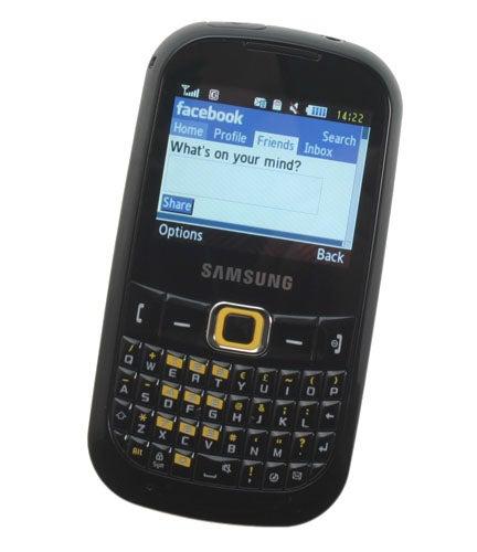 Samsung Genio Qwerty GT-B3210 screenshot