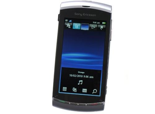 Sony Ericsson Vivaz front angle