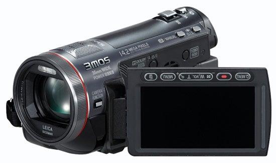 Panasonic HDC-TM700 front angle
