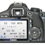 Canon EOS 550D back