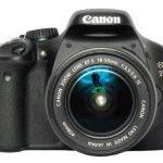 Canon EOS 550D lens