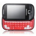 GT-B5310 Genio Slide Cellular Phone (Quad Band, Dual Band - GSM 850, GSM 900, GSM 1800, GSM 1900, WCDMA 900, WCDMA 2100 - Bluetooth, Wi-Fi - GPRS, EDGE, HSDPA - Polyphonic, True Tone - 16.7 Million Colours - Slide - Black)
