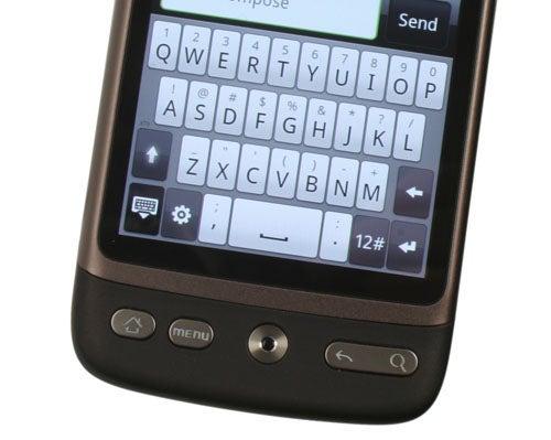 HTC Desire keyboard