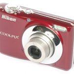 Nikon CoolPix L22 front angle