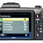 Nikon CoolPix L110 back
