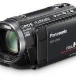 Panasonic HDC-SD600 front angle