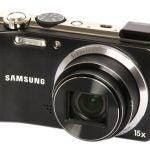 Samsung WB650 front angle