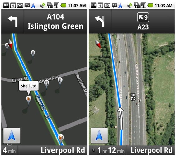 Google Maps Navigation – Layers, Street View and Verdict ... on google mapquest, google maps street view, google maps app, google maps united states, google maps india, google maps uk, google maps car, google maps california, tv sat map, google maps europe, google maps satellite maps, google maps texas, google maps logo,