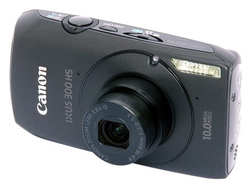 Canon IXUS 300 HS front angle