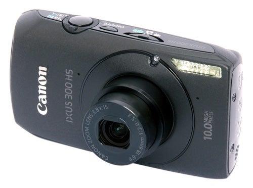 Canon IXUS 300 HS front angle