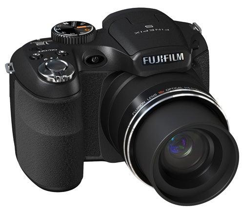 Fujifilm Finepix S2500HD front angle