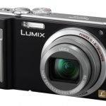 Panasonic Lumix DMC-TZ8 front angle
