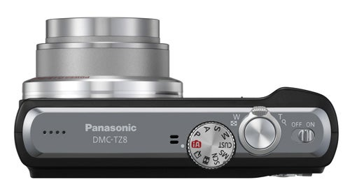 Panasonic Lumix DMC-TZ8 top