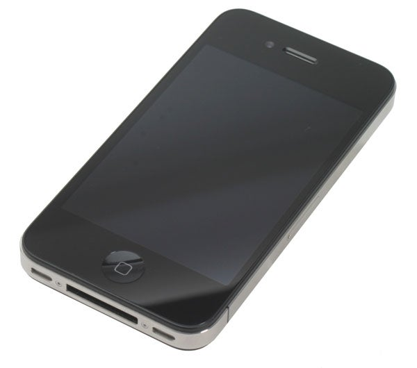 iPhone 4 front angle