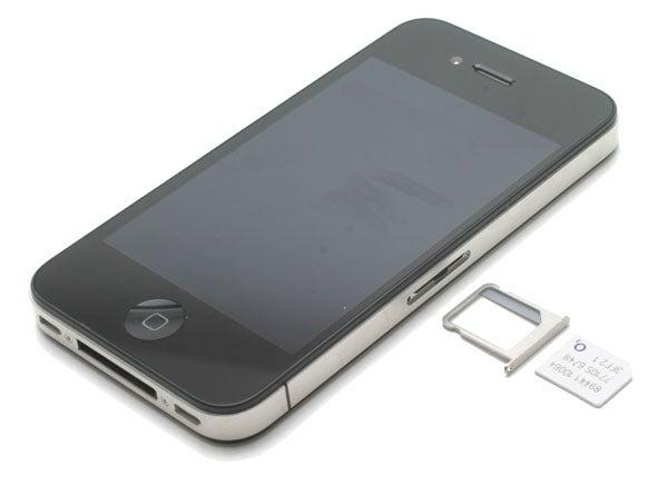 iPhone 4 micro SIM