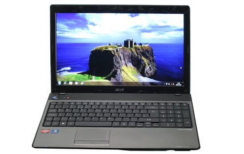 Acer Aspire 5551 front facing