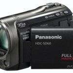 Panasonic HDC-SD60 front angle