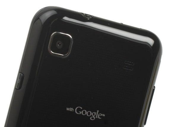 Samsung Galaxy S camera lens