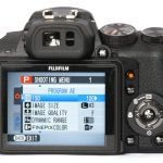 Fujifilm FinePix HS10 back