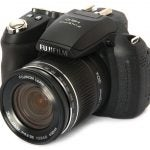 Fujifilm FinePix HS10 front angle
