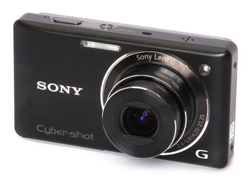 Sony Cyber-shot DSC-W380 front angle