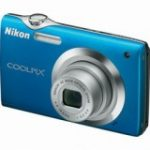 "Coolpix S3000 Point & Shoot Digital Camera - 12 Megapixel - 6.9 cm 2.7"" Active Matrix TFT Colour LCD - Blue (4x Optical Zoom - 4x)"