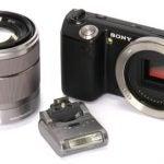 Sony NEX-5 front angle