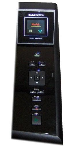 Kodak ESP 5210 control panel