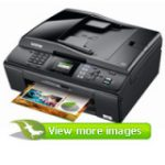 MFC-J415W Inkjet Multifunction Printer - Colour - Plain Paper Print (Printer, Scanner, Copier, Fax - PC - Wi-Fi: Yes)