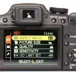 Panasonic Lumix DMC-FZ45 back